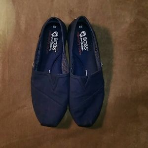 Skechers Shoes | Navy Blue Bobs By
